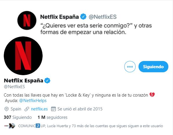 Twitter portada Netflix