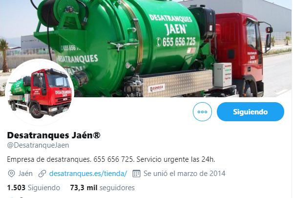 Twitter desantranques Jaén